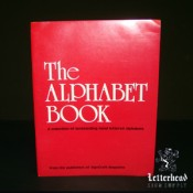 Alphabets Book Letter Styles book