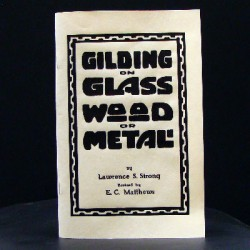 Gilding on Glass Wood Metal Book