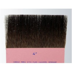 "Gilders Tip Gold Leaf Brush 4"" Series-2170"