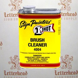 1 shot brush cleaner 4004 quart