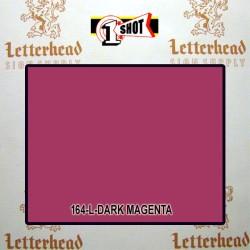 1 Shot Lettering Enamel Paint Dark Magenta 164L - 1/2 Pint
