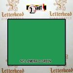 1 Shot Lettering Enamel Paint Emerald Green 142L - Pint