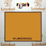 1 Shot Lettering Enamel Paint Imitation Gold 191L - Quart