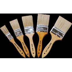 cutter brushes white bristle single series 5840