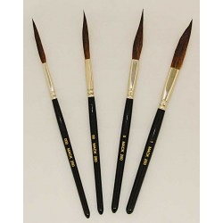 series 250-Long Handle Sword Pinstriping Brushes