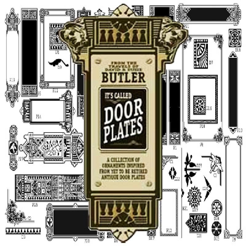 Butler Door Amp Sc 1 St Gold Leaf Gilding