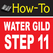 Water Gilding Step By Step Part 11
