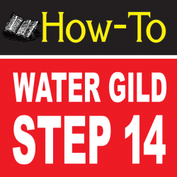 Water Gilding Step By Step Part 14