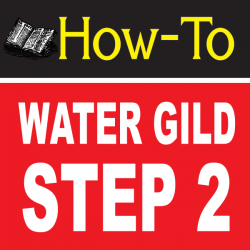Water Gilding Step By Step Part 2