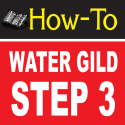 Water Gilding Step By Step Part 3