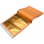 Manetti 23kt-Red Gold-Leaf Patent-Book