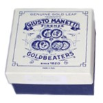 Manetti 10kt-White-Platinum Gold-Leaf Patent-Pack