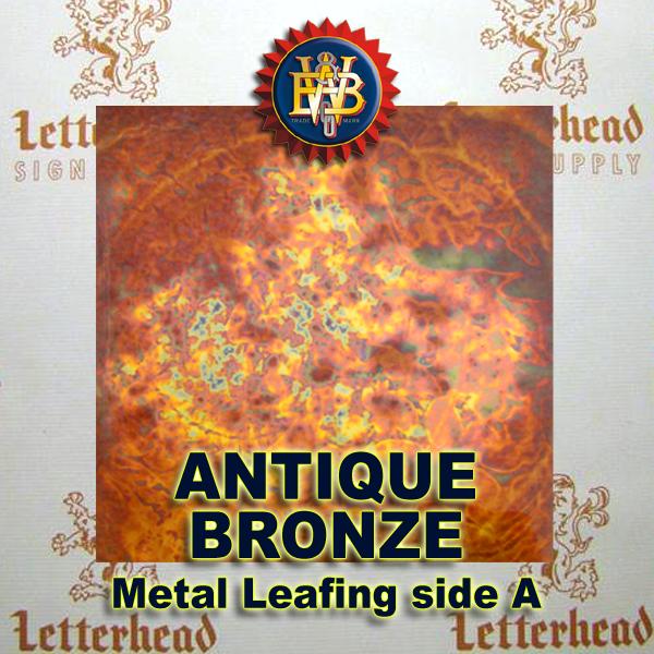 Variegated Metal Leaf-Antique Bronze 20 book Pack