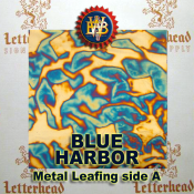Blue Harbor Variegated Metal Leaf