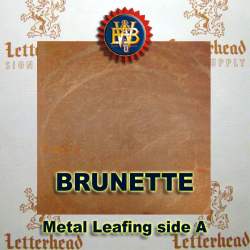 Brunette Variegated Metal Leaf