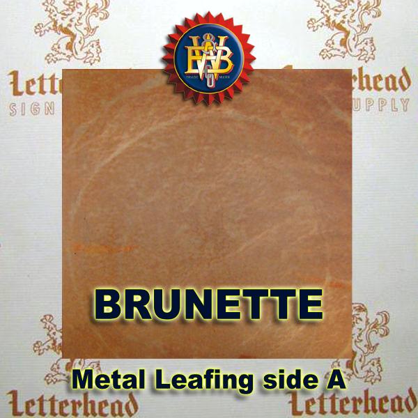 Variegated Metal Leaf-Brunette book