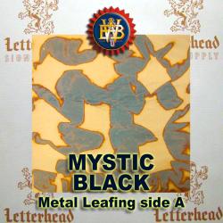 Variegated Metal Leaf-Mystic Black 20 Book Pack