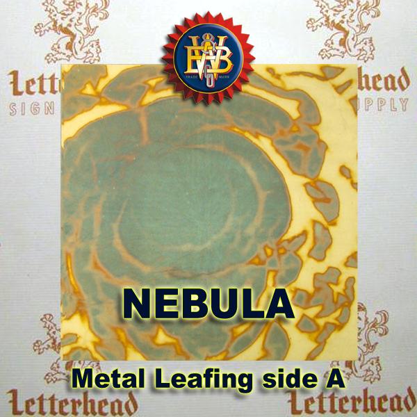 Variegated Metal Leaf-Nebula 20 Book Pack