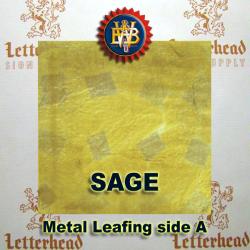 Variegated Metal Leaf-Sage 20 book Pack