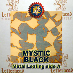 Variegated Metal Leaf-Mystic Black 20 Book Pack